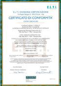 Certificazione ISO 2021