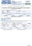 Certificazione SOA 2021